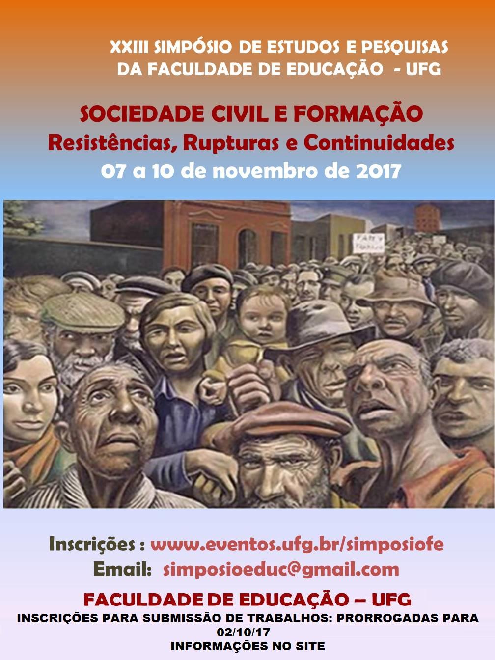 XXIII SIMPÓSIO DA FACULDADE DE EDUCAÇÃO