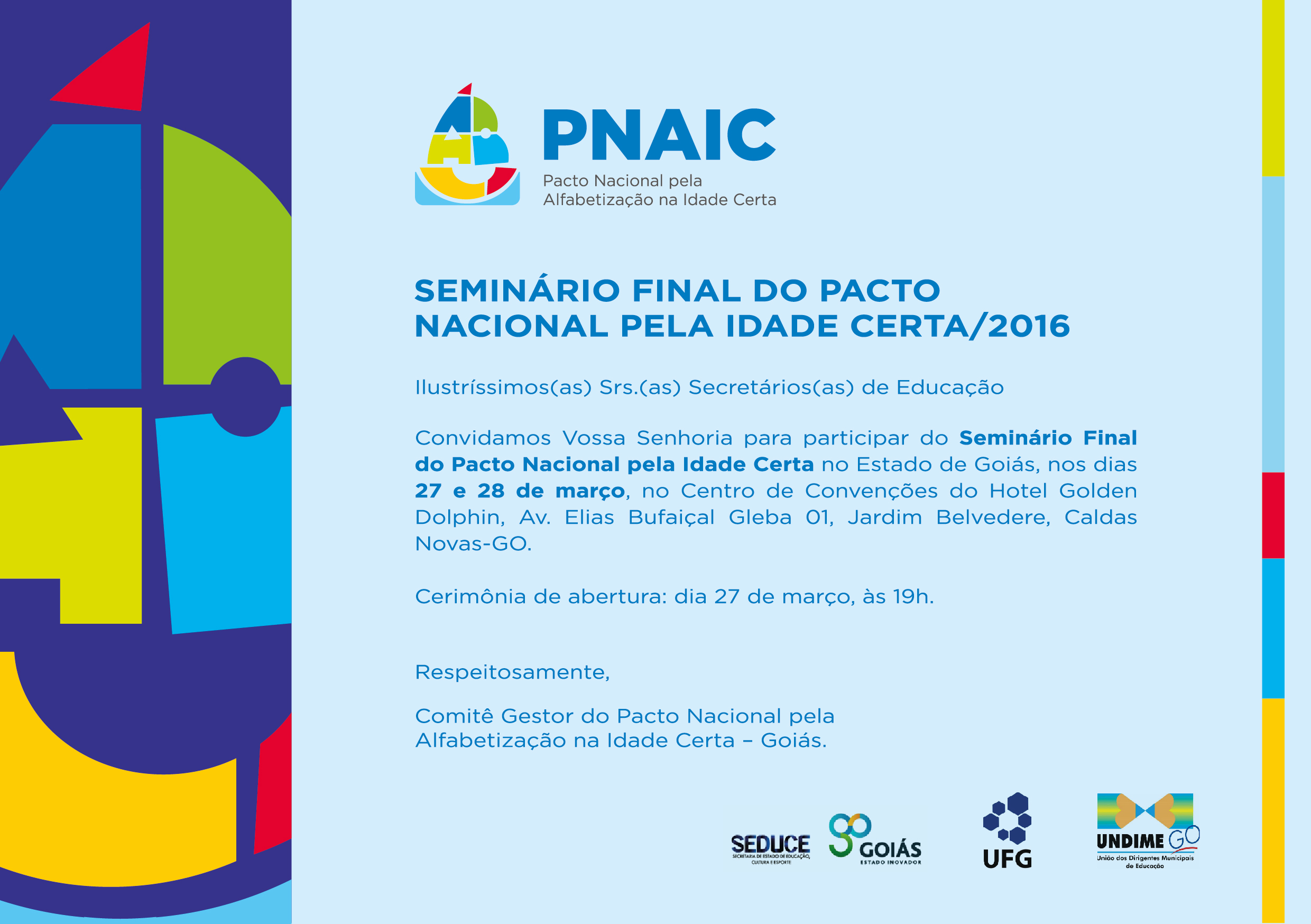 Seminário Final do PNAIC-2016