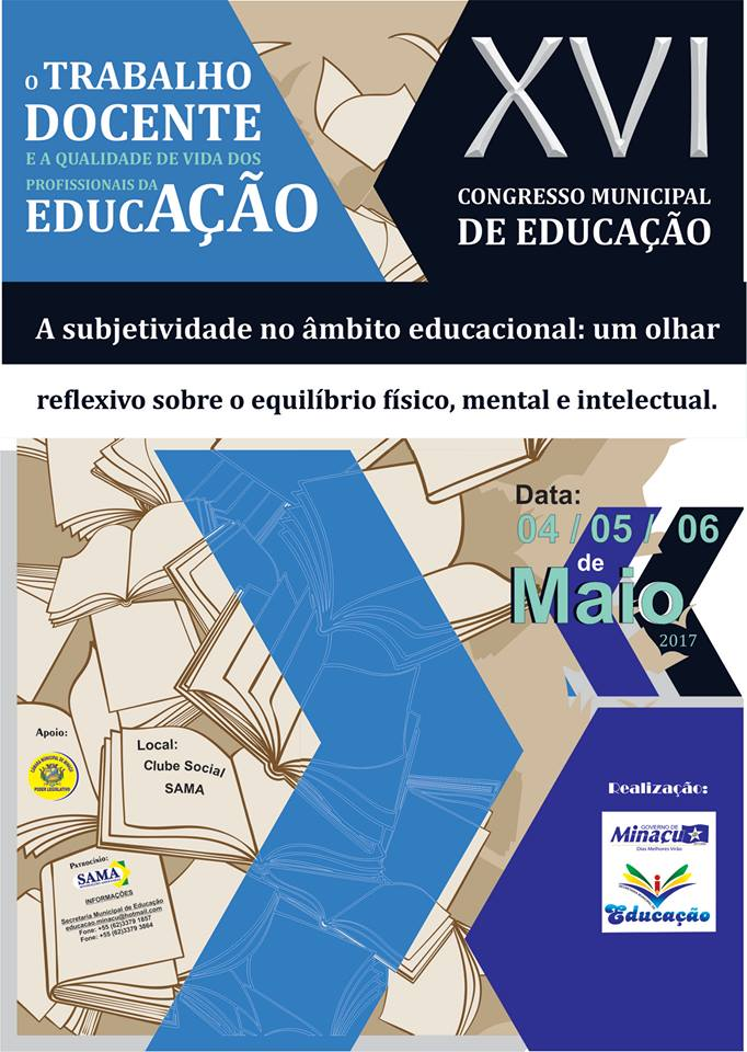 XVI CONGRESSO MUNICIPAL DE EDUCAÇÃO DE MINAÇU