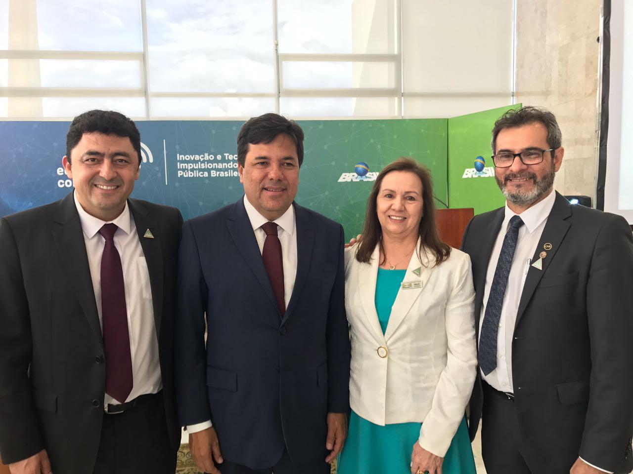 Presidente da Undime Goiás e Undime Região Centro-Oeste participa de eventos em Brasília relacionados à Política de Inovação Educação Conectada