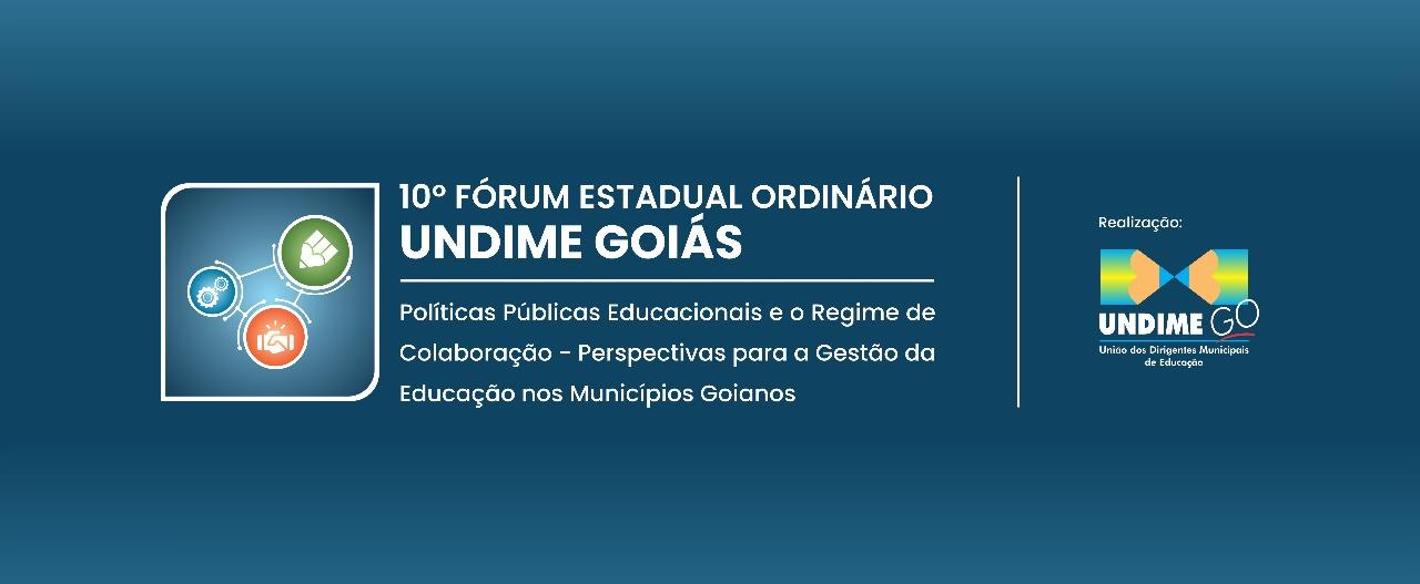 Materiais das palestras e oficinas _ 10º Fórum Estadual Ordinário da Undime Goiás
