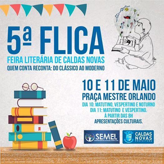 5ª FLICA - Feira Literária de Caldas Novas