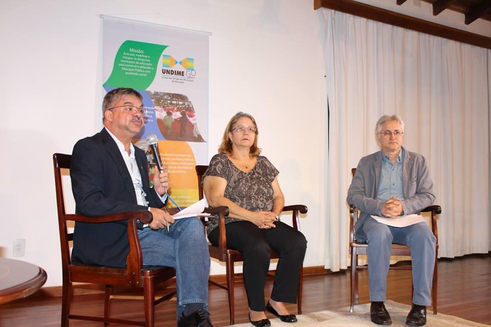 Debate sobre Sistema Nacional de Educação e Encontro de Coordenadores de Polos Regionais da Undime Goiás